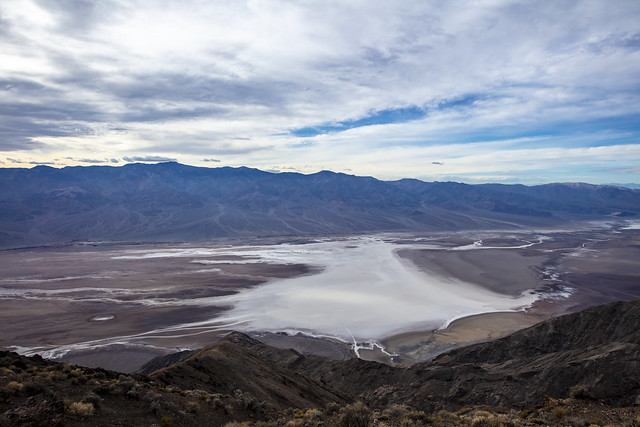 Badwater Basin from above