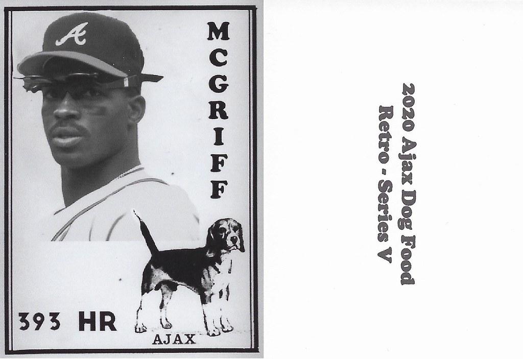 2020 Ajax Dog Food Retro Alt Back - McGriff, Fred2