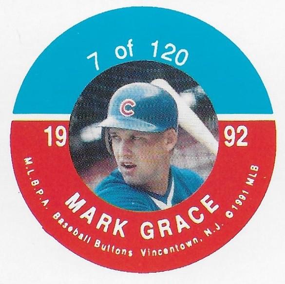 1992 JKA Vincentown Button Proof Square - Grace, Mark