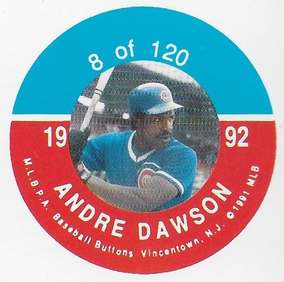 1992 JKA Vincentown Button Proof Square - Dawson, Andre