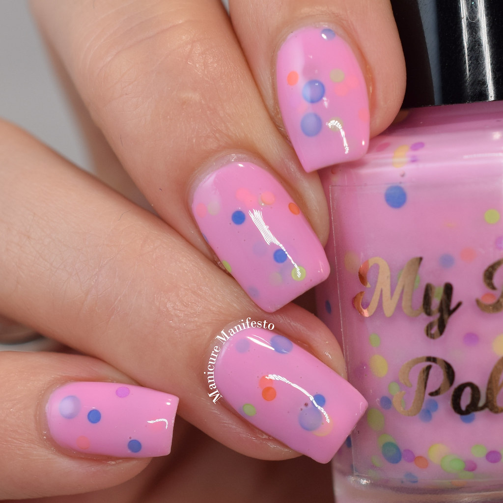 My Indie Polish Jeweled In Candy review