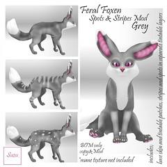 Feral Foxen Spots & Stripes Mod