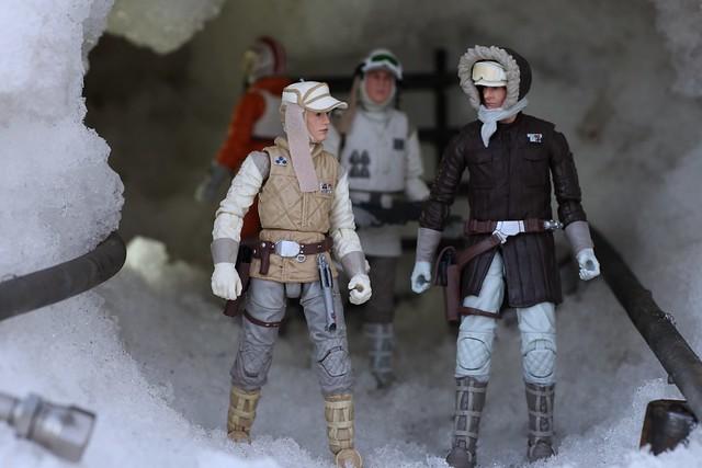 Luke and Han at Echo Base.