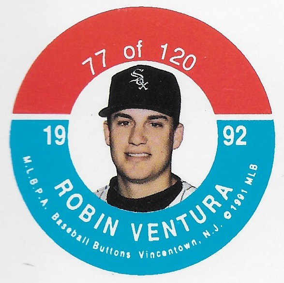 1992 JKA Vincentown Button Proof Square - Ventura, Robin