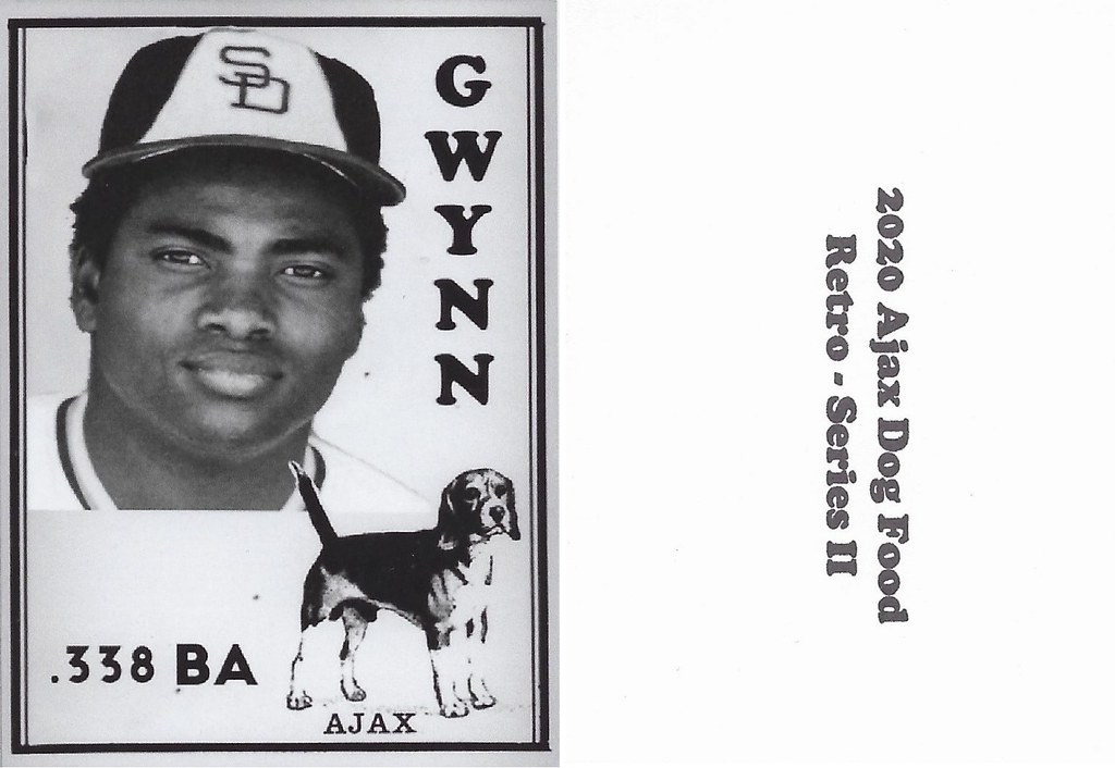 2020 Ajax Dog Food Retro Alt Back - Gwynn, Tony2