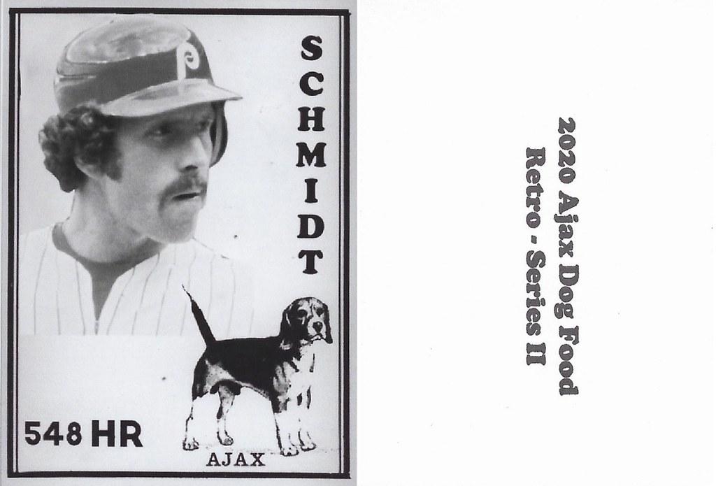 2020 Ajax Dog Food Retro Alt Back - Schmidt, Mike2