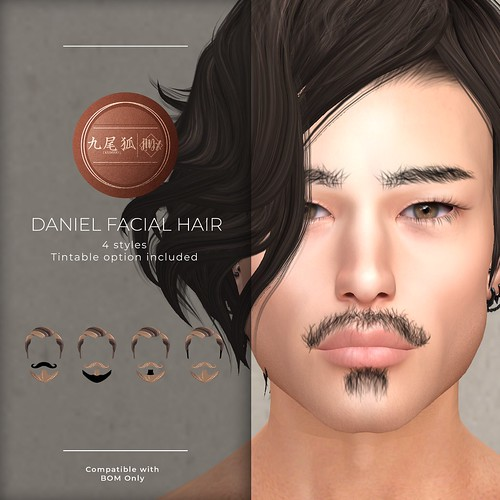 .[ KUMIHO ]. j!NX Daniel Facial Hair Group GIFT