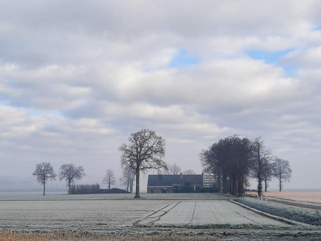 een koude ochtend in maart