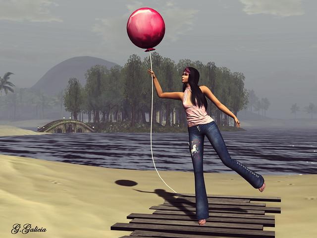 Nur Eine Luftballon