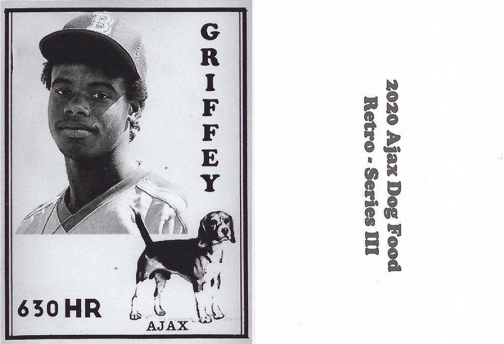 2020 Ajax Dog Food Retro Alt Back - Griffey Jr, Ken2