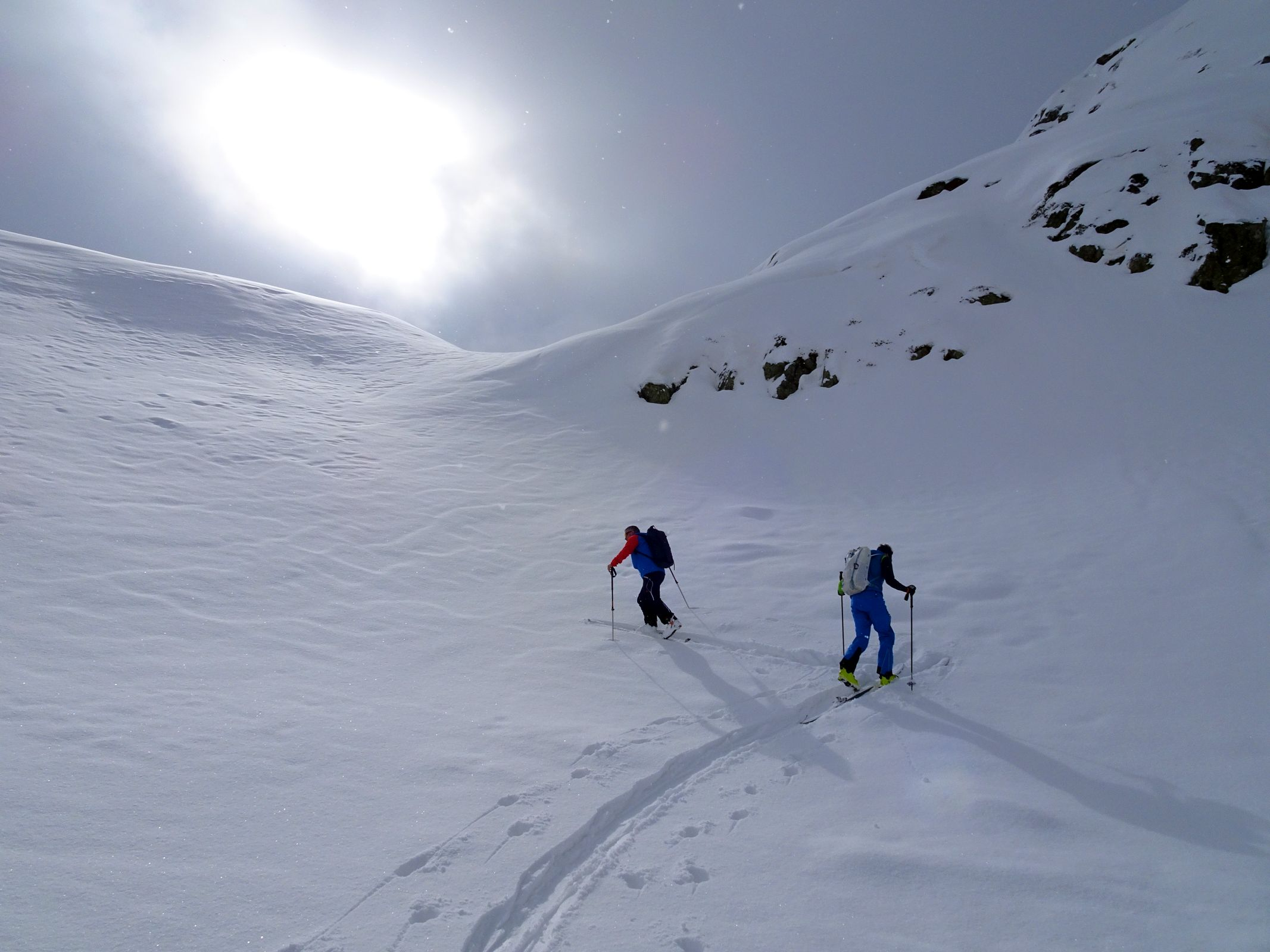 Skitourentage Medeger Hauptji 05.03.2021