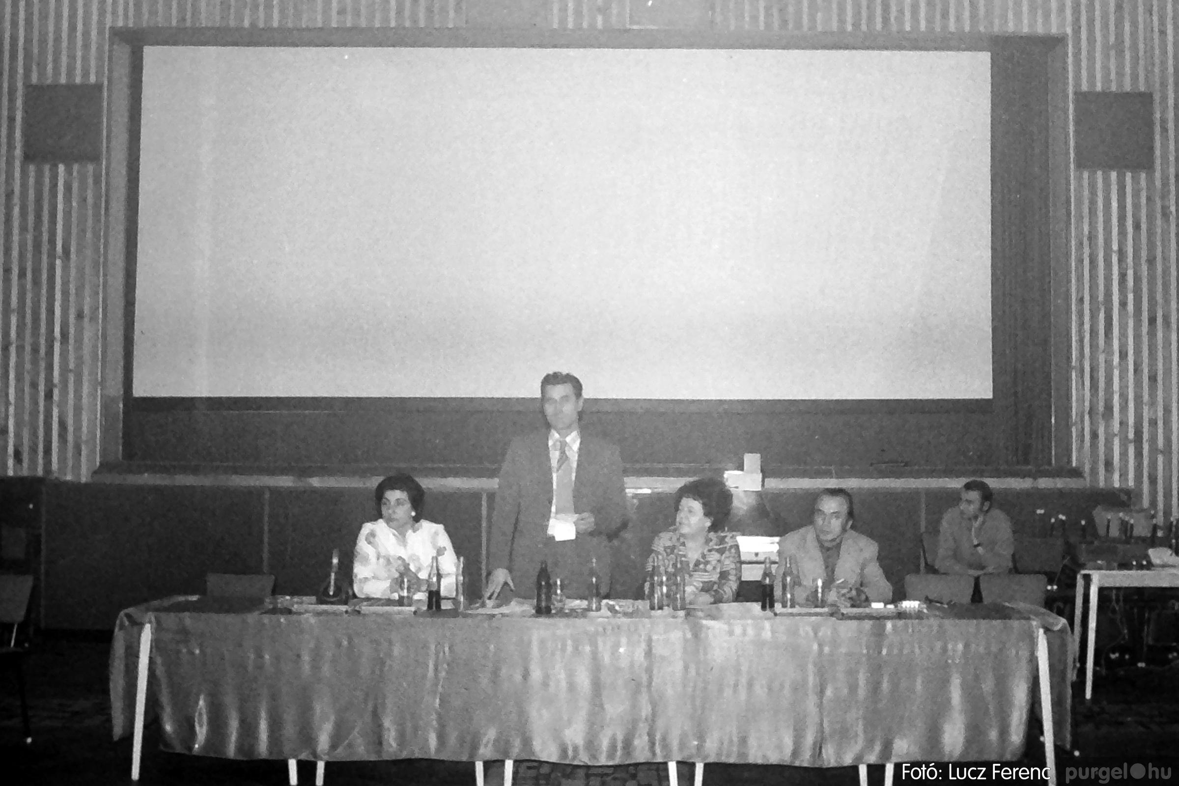 074. 1977. KTSZ-es dolgozók vetélkedője 012. - Fotó: Lucz Ferenc.jpg