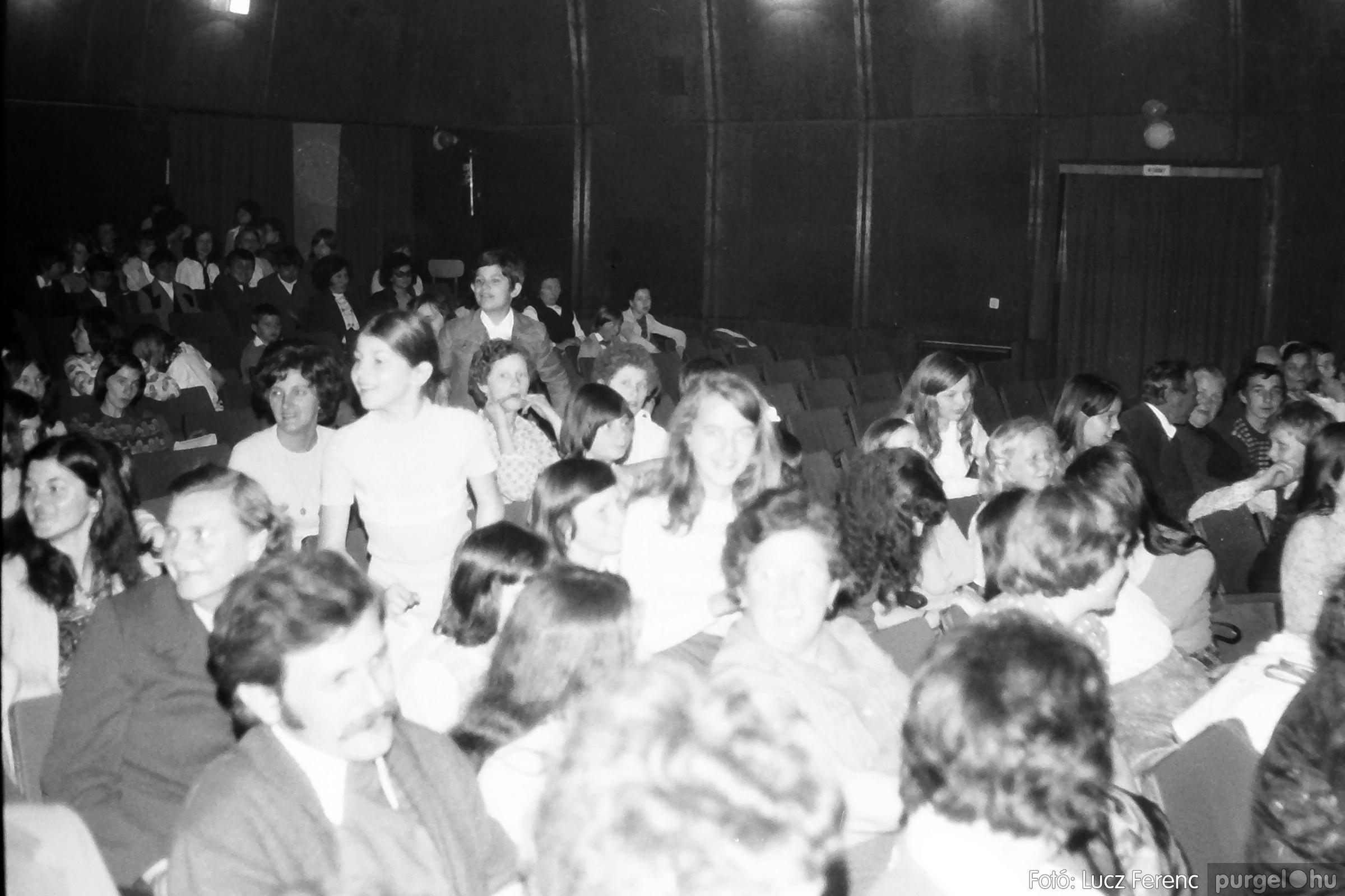 077. 1977. Kulturális seregszemle Mindszenten 011. - Fotó: Lucz Ferenc.jpg