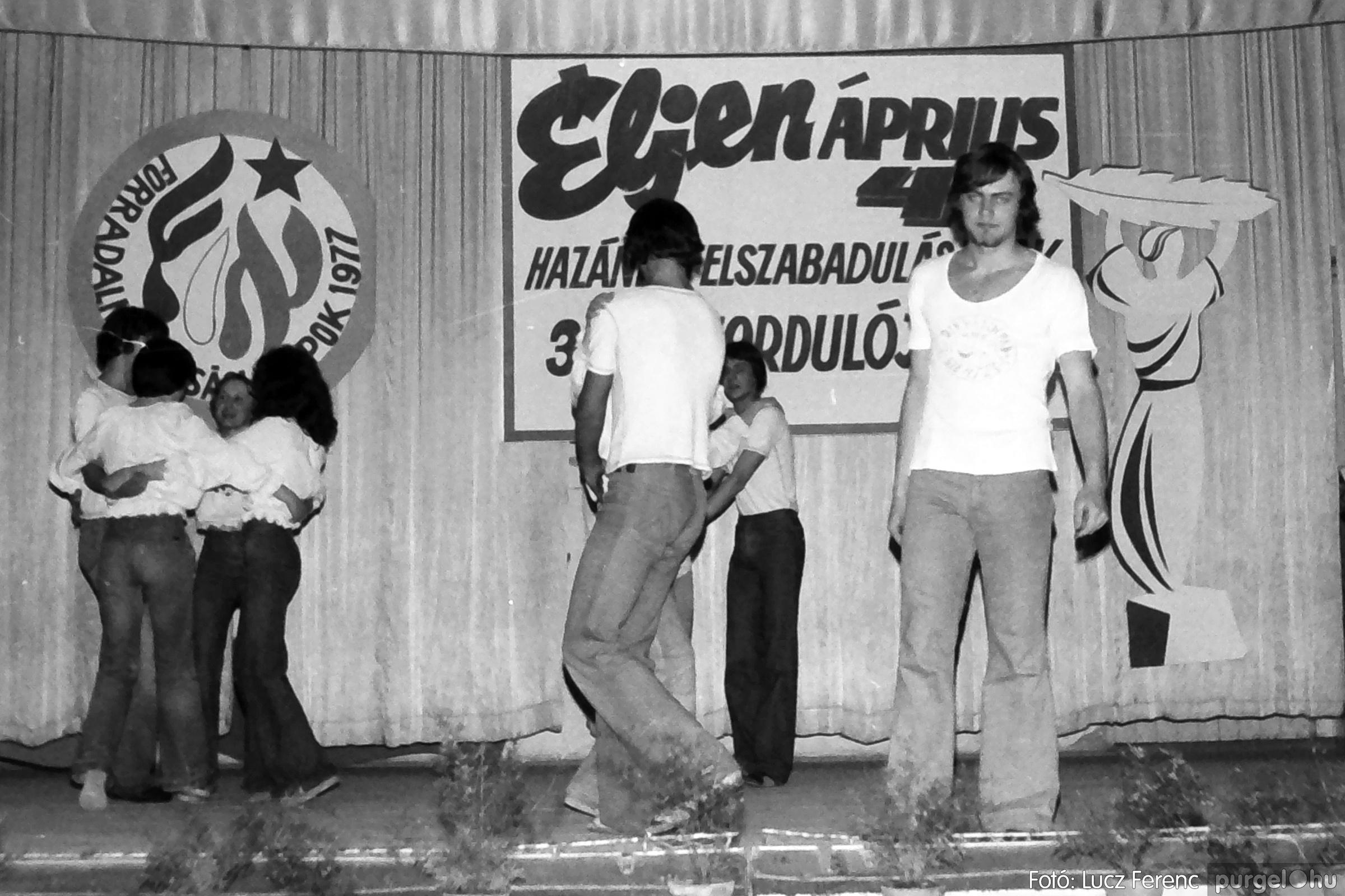 078. 1977.04.04. Április 4-i ünnepség 041. - Fotó: Lucz Ferenc.jpg