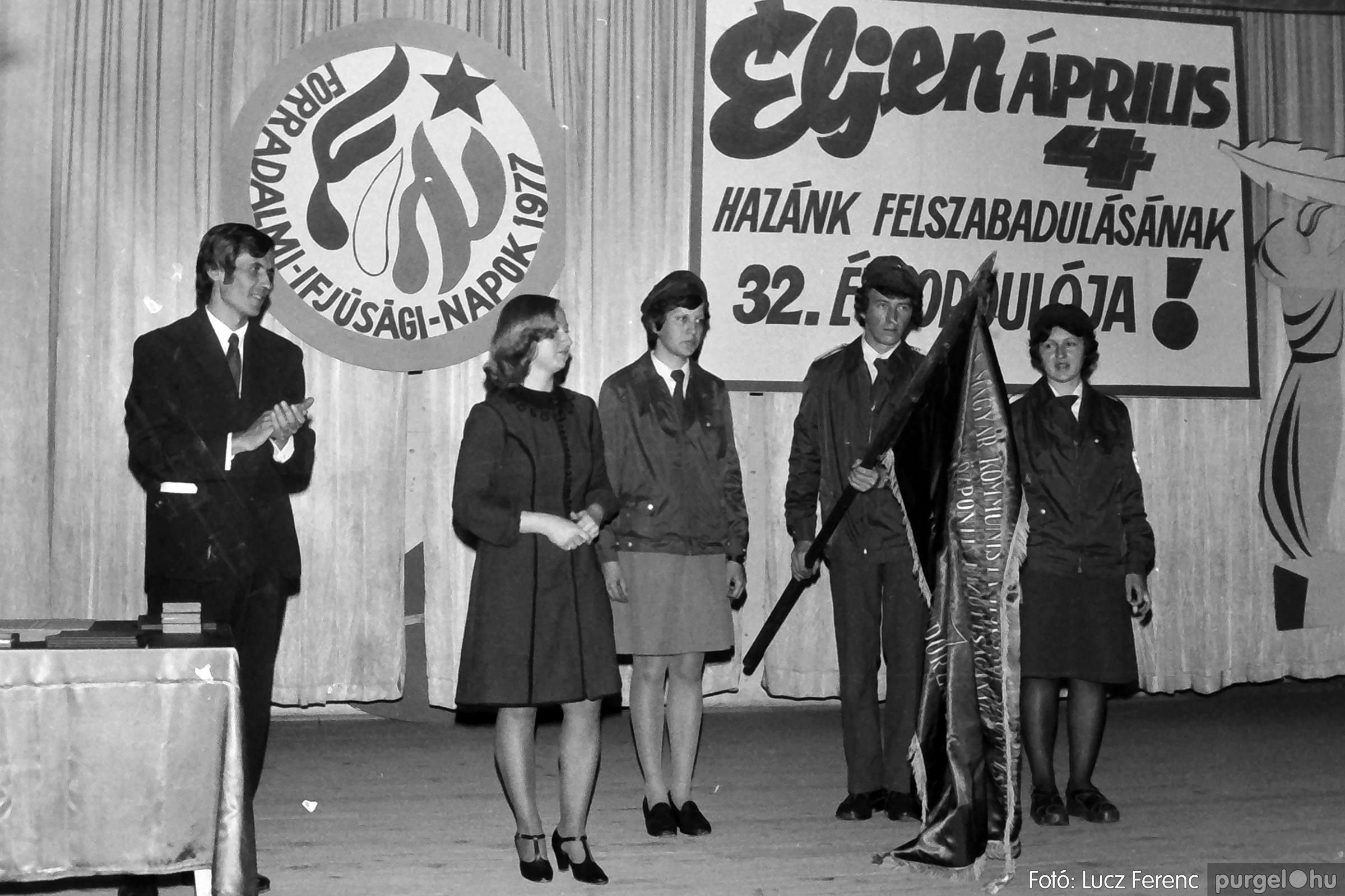 078. 1977.04.04. Április 4-i ünnepség 025. - Fotó: Lucz Ferenc.jpg