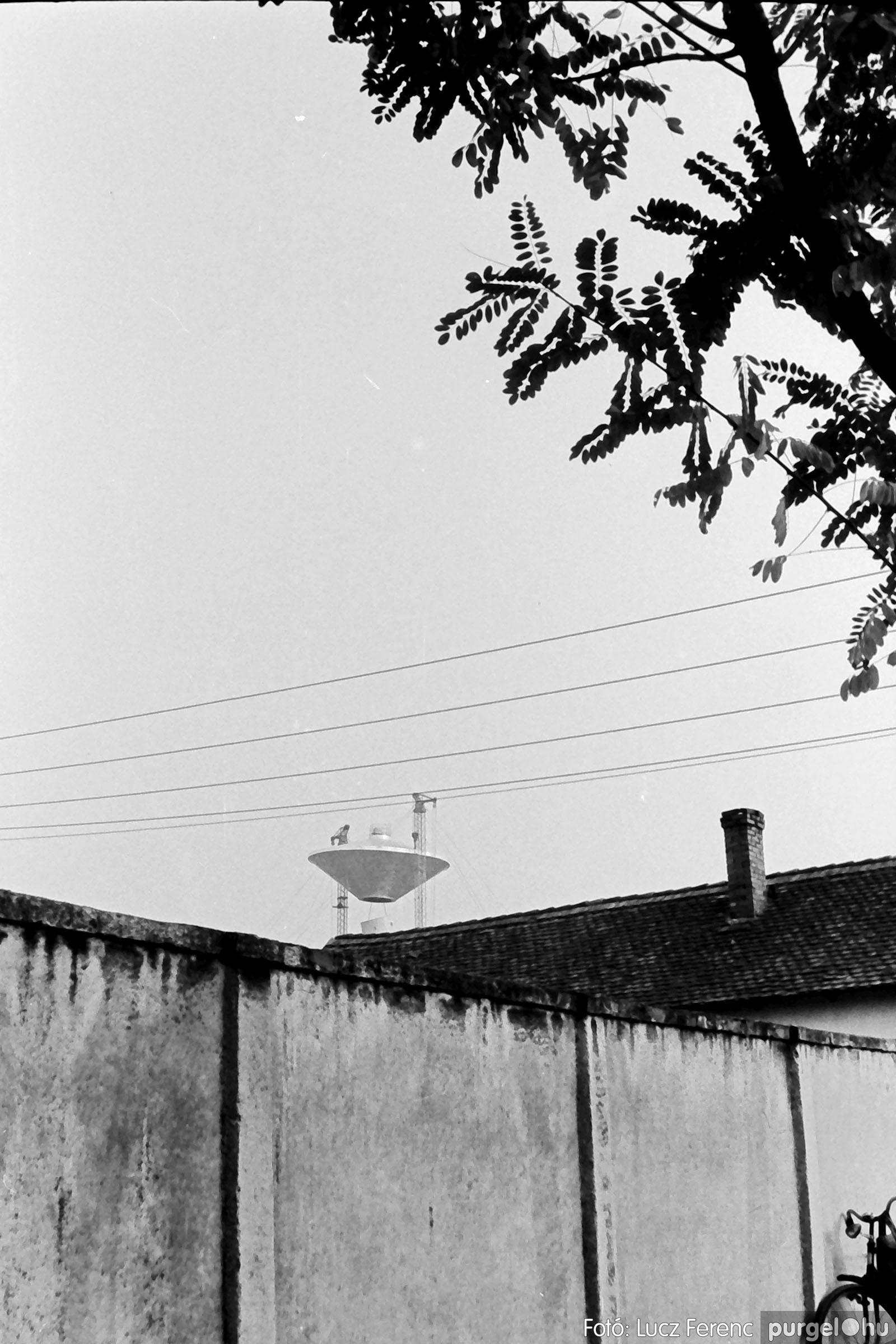 122A. 1978. Épül a víztorony 033. - Fotó: Lucz Ferenc.jpg