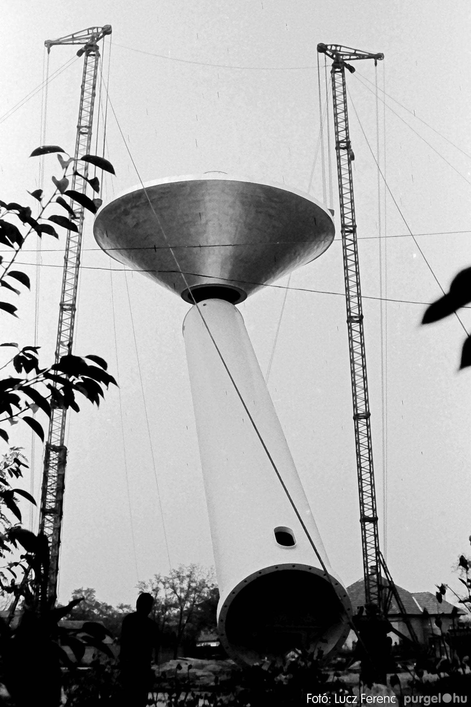 122A. 1978. Épül a víztorony 025. - Fotó: Lucz Ferenc.jpg