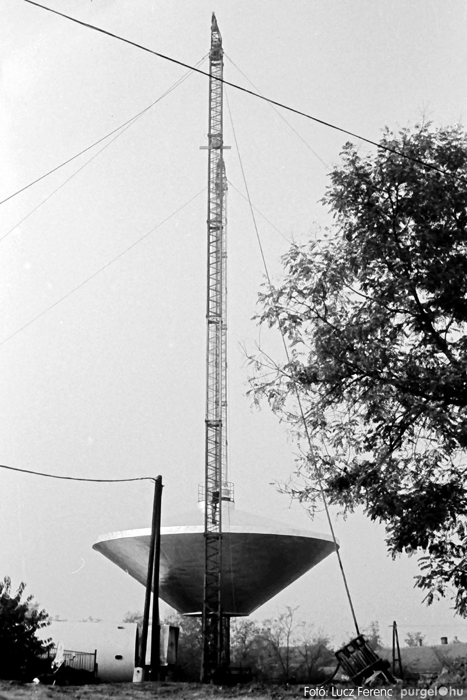 122A. 1978. Épül a víztorony 022. - Fotó: Lucz Ferenc.jpg