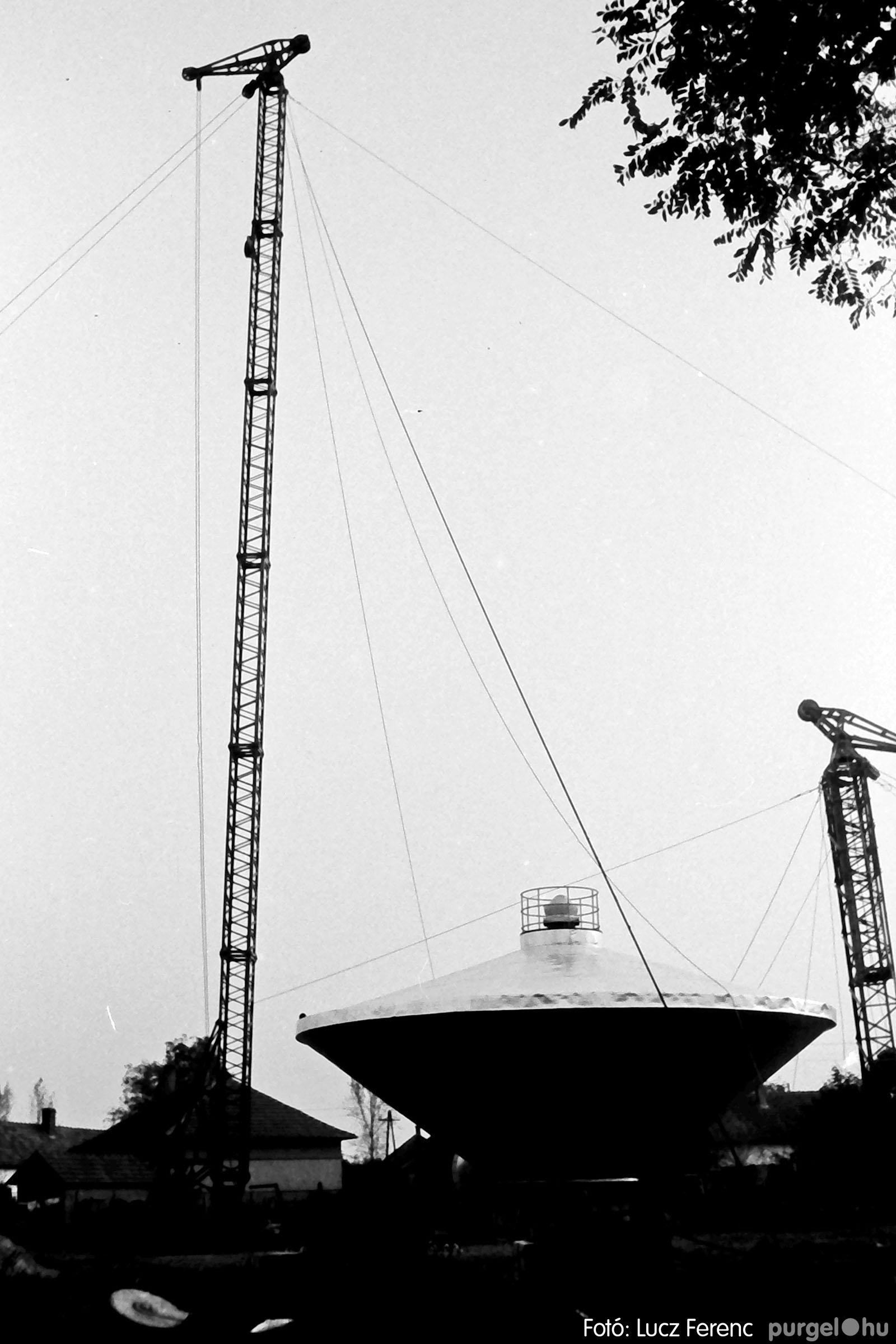 122A. 1978. Épül a víztorony 012. - Fotó: Lucz Ferenc.jpg