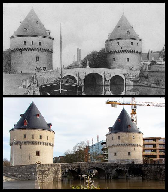 Broel Towers, Broelkaai, Kortrijk