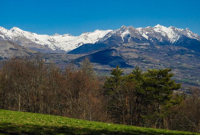 Dernières neiges sur les Hautes-Alpes