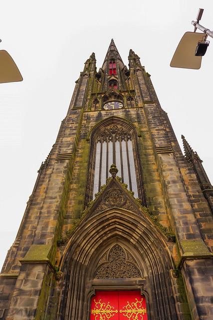 St Columba's Free church Edinburgh