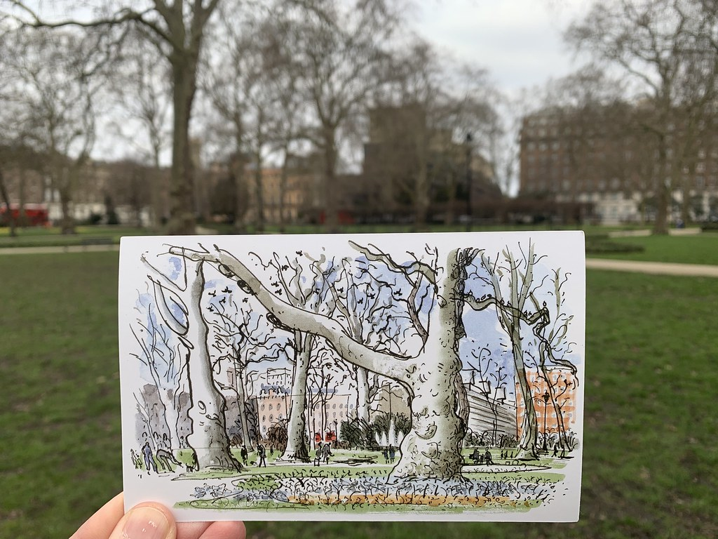 Russell Square by David Gentleman