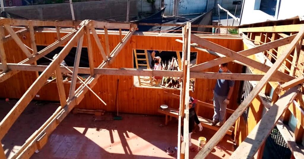 Los templos se cerraron, pero la obra continuó en la Iglesia de San Vicente de Tagua Tagua