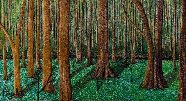 ציור אימפרסיוניסטי פוינטליסטי הציור האימפרסיוניסטי הפוינטליסטי  איילת בוקר הציירת המודרנית הציירות המודרניות ציירות מודרניות