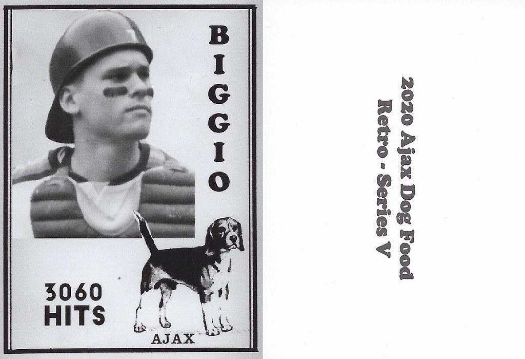 2020 Ajax Dog Food Retro Alt Back - Biggio, Craig2