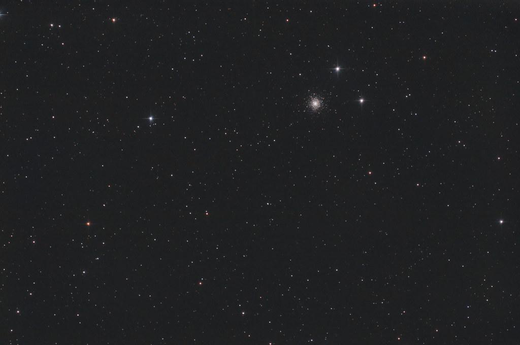 Ngc6229 dans la constellation d'Hercules