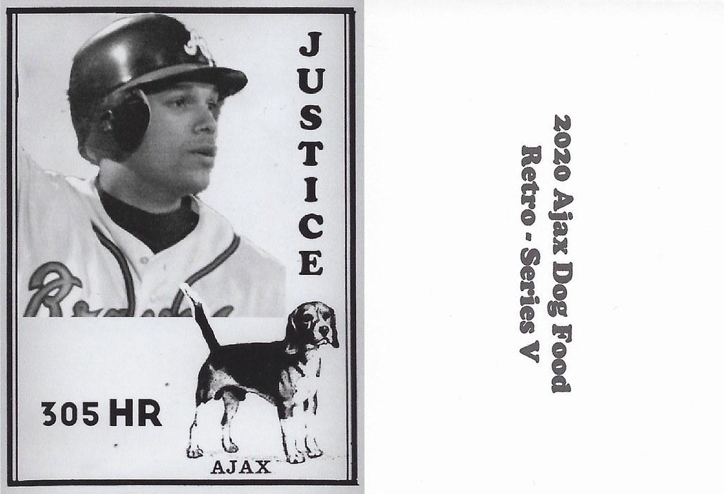 2020 Ajax Dog Food Retro Alt Back - Justice, Dave2