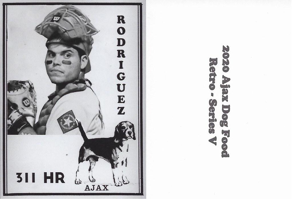 2020 Ajax Dog Food Retro Alt Back - Rodriguez, Ivan2