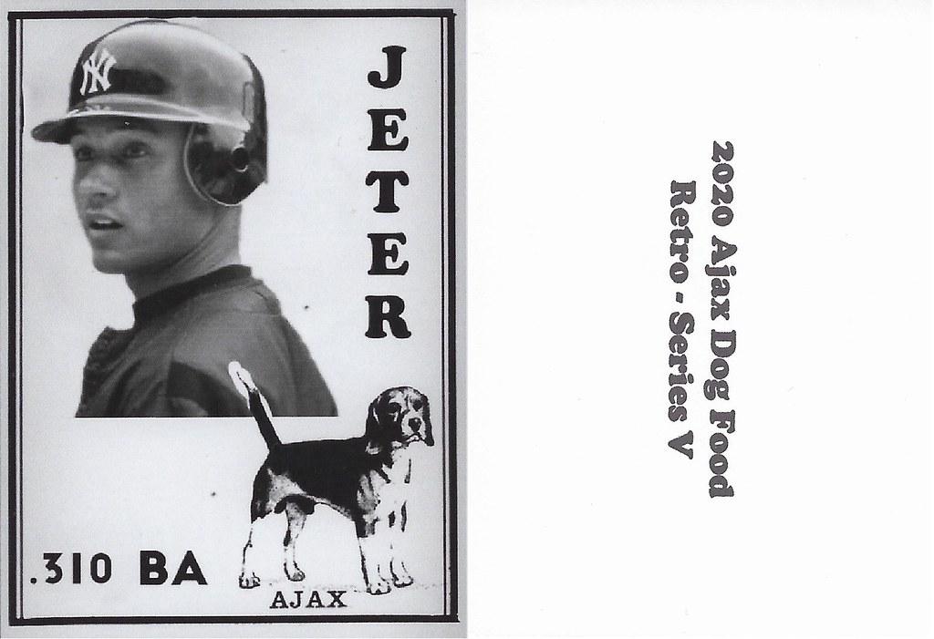 2020 Ajax Dog Food Retro Alt Back - Jeter, Derek2