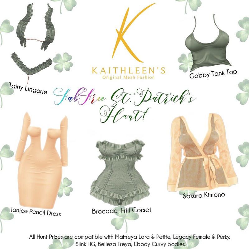 Kaithleen's - FabFree St. Patty's Day Hunt