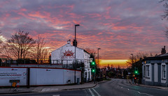 The Sun Inn Prescot at Sunset