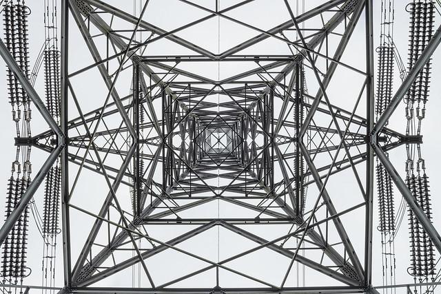 Pylon, RSPB Sandy, UK