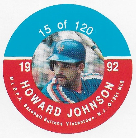 1992 JKA Vincentown Button Proof Square - Johnson, Howard