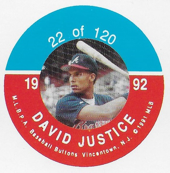 1992 JKA Vincentown Button Proof Square - Justice, Dave