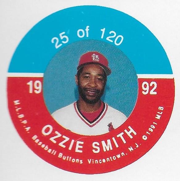 1992 JKA Vincentown Button Proof Square - Smith, Ozzie