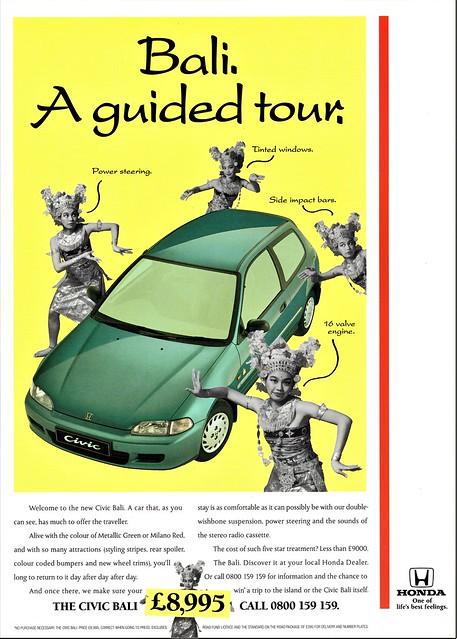 1994 Honda Civic Bali