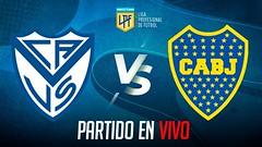 ud83dudd34 Velez VS Boca Juniors - COPA LIGA PROFESIONAL 2021 EN VIVO - FECHA 4