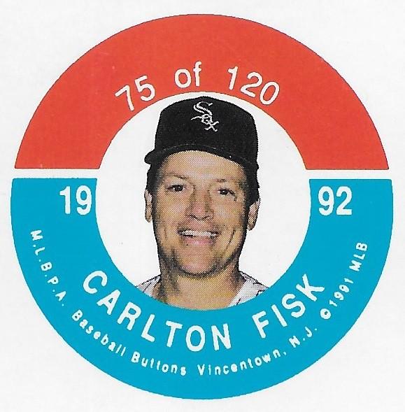 1992 JKA Vincentown Button Proof Square - Fisk, Carlton