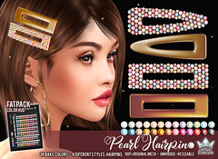 PEARL HAIRPIN FATPACK - WHITE QUEEN