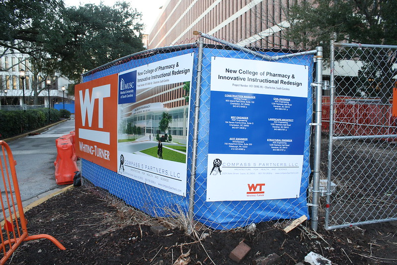 MUSC College of Pharmacy Construction Progress