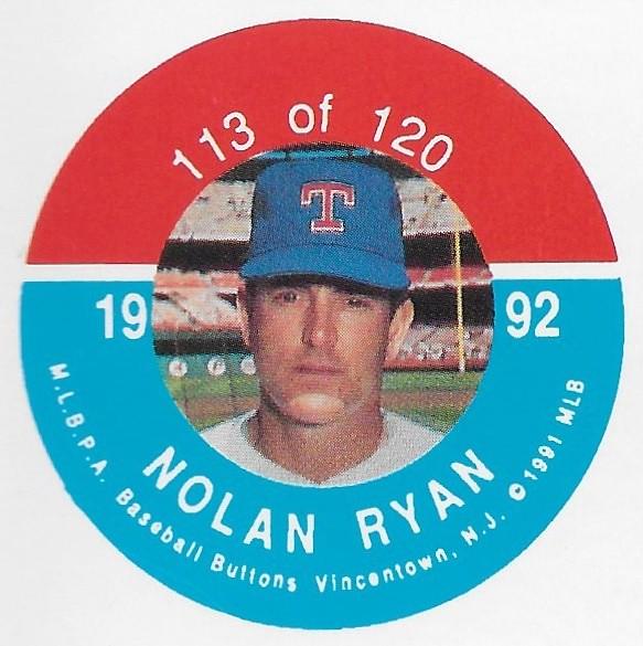 1992 JKA Vincentown Button Proof Square - Ryan, Nolan