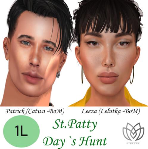 Utukushi - FabFree St. Patty's Day Hunt