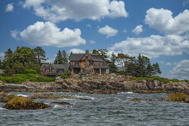 House on the Rocky Coast of Maine