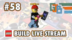 LEGO LIVE STREAM BUILD #58 - Sunday with @Tazzman Bricks and Steni