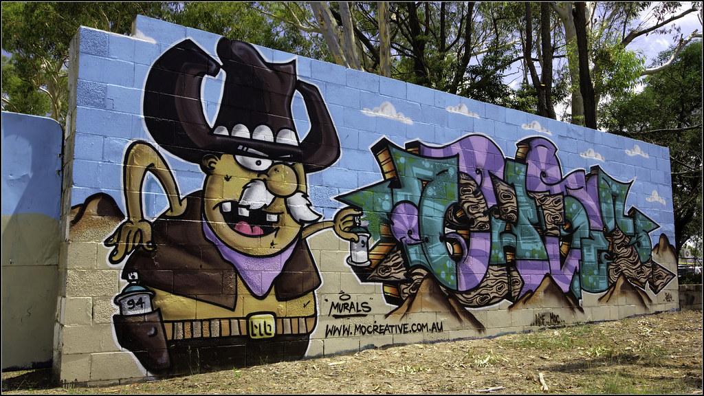 2015 Graffiti Western Auto Wreckers, Londonderry, NSW